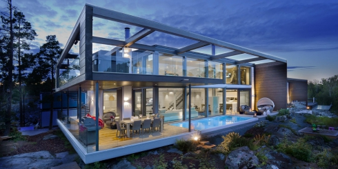 Modernes Massivholzhaus Custom Home I