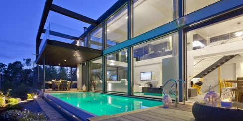 Modernes Massivholzhaus Custom Home II